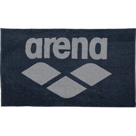 arena Pool Soft Handtuch navy-grey